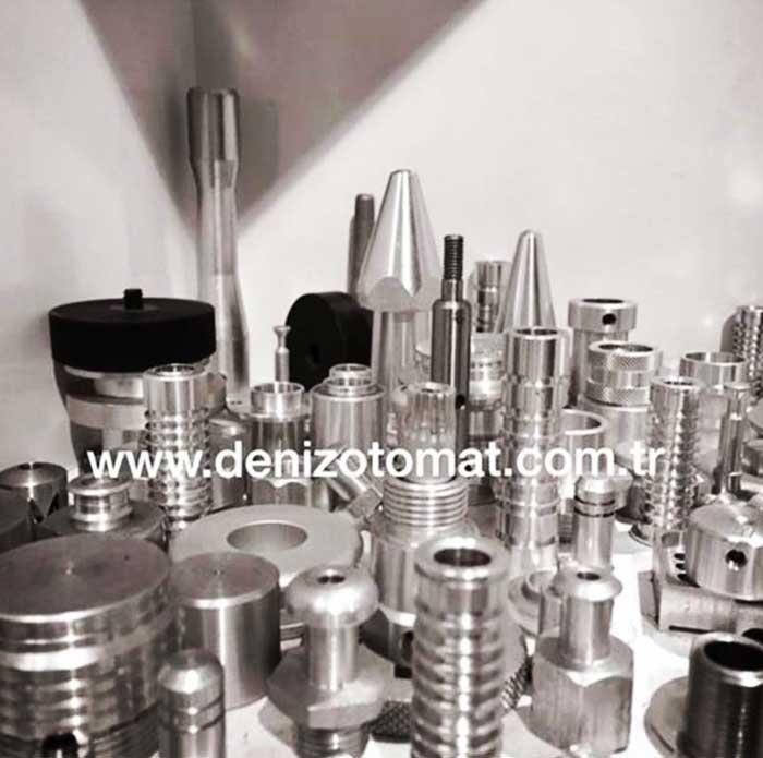 Medikal Yedek Parça Alüminyum CNC Otomat